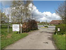 TM1551 : Entrance to Henley Community Centre by Geographer