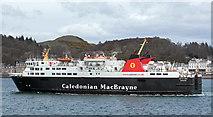 NM8529 : MV Isle of Lewis leaving Oban - April 2016 by The Carlisle Kid