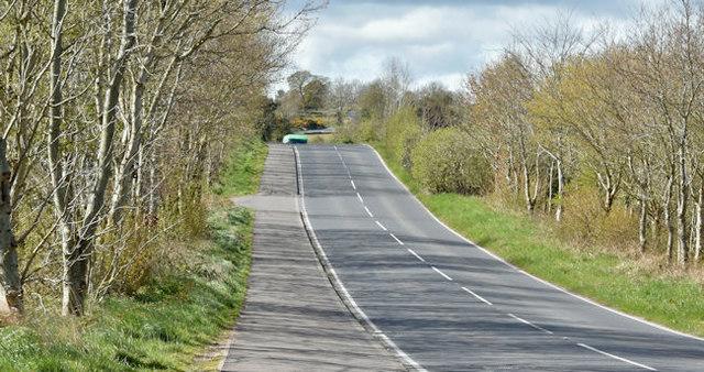 The Ballynahinch Road, Saintfield (April 2016)