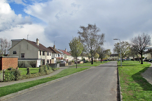 Sterne Close on a cold spring afternoon