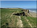 TG2739 : England Coast Path to Sidestrand by Hugh Venables