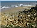 TG2739 : Coastal erosion at Trimingham by Hugh Venables