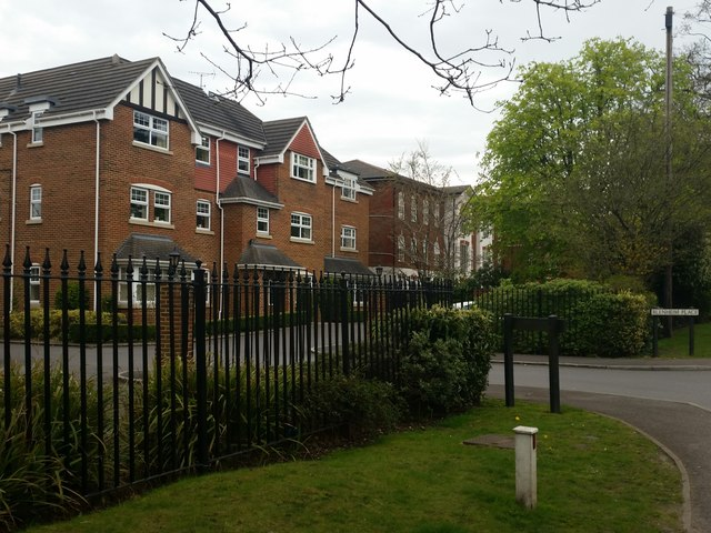 Houses in Blenheim Place, Park Road, Camberley