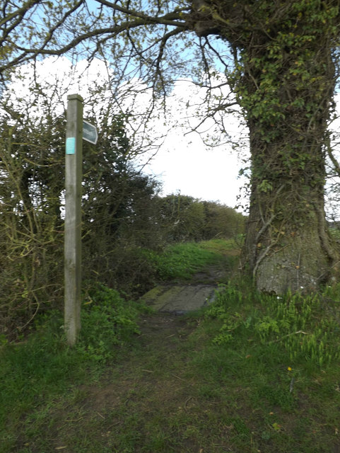 Footpath off Bull's Road