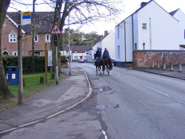 Riding Through