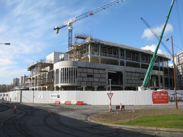 New building at Edinburgh Royal Infirmary