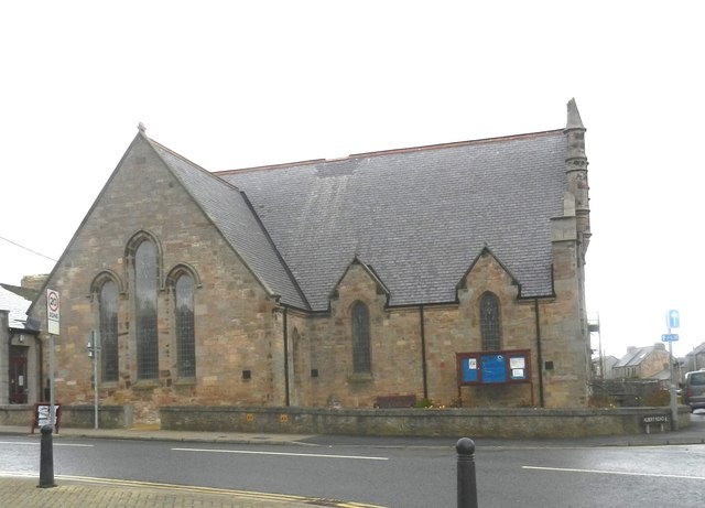 The United Congregational Church in Eyemouth, Berwickshire
