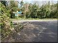 SE3948 : Harland Way marker post by Steve  Fareham