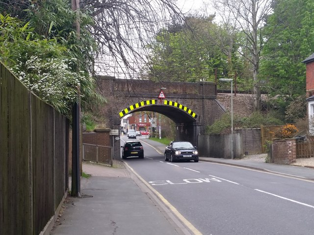 Railway bridge over Park Street, Camberley