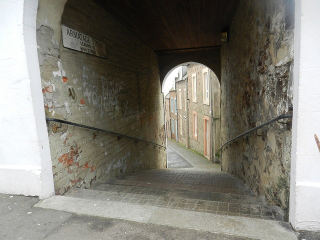 Armatage Street in Eyemouth