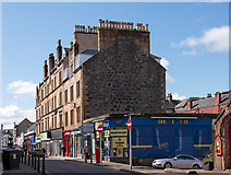 NM8530 : Tenements and shops, George Street, Oban - April 2016 by The Carlisle Kid