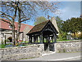 TQ1289 : Entrance to St John the Baptist, Pinner by Marathon