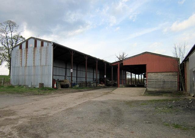 Llwyn Knottia Farm Buildings