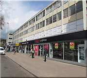 SO8318 : Tesco Express, central Gloucester by Jaggery