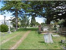 TQ1289 : Paines Lane Cemetery by Marathon