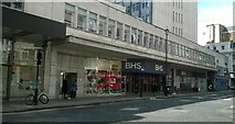 TQ2881 : British Home Stores, Oxford Street, London: side entrance on John Prince's Street by Christopher Hilton