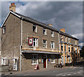 SO0351 : Greyhound Hotel, Builth Wells by Julian Osley