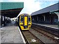 SH6115 : Arriva train at Barmouth by John Lucas