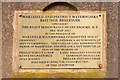 SE0119 : Commemorative Stone, Baitings Dam by David Dixon