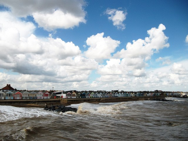 A view from Southwold Pier