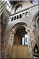 SJ4066 : Romanesque Arch in Chester Cathedral by Jeff Buck