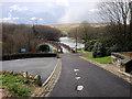 SE0218 : Approaching Ryburn Reservoir by David Dixon