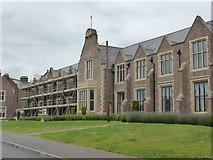 SX9192 : College behind St David's Church by Chris Allen