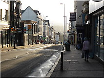 SX9192 : Looking down Fore Street, Exeter by Chris Allen