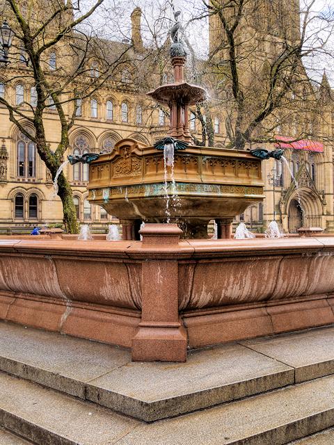 Queen Victoria Jubilee Fountain in Albert Square