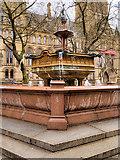 SJ8398 : Queen Victoria Jubilee Fountain in Albert Square by David Dixon