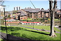 SJ4066 : The Shropshire Union Canal from Chester City Walls by Jeff Buck