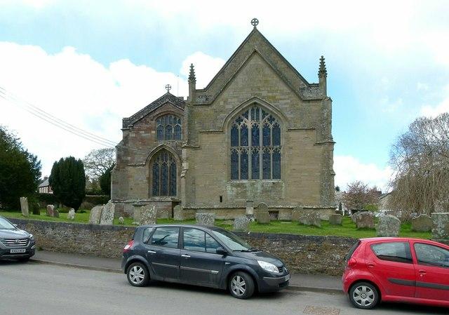 Church of St Andrew, Presteigne
