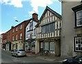 SO3164 : Houses on High Street, Presteigne by Alan Murray-Rust