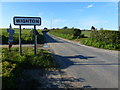 TF9339 : Wighton, Norfolk - Village sign by Richard Humphrey