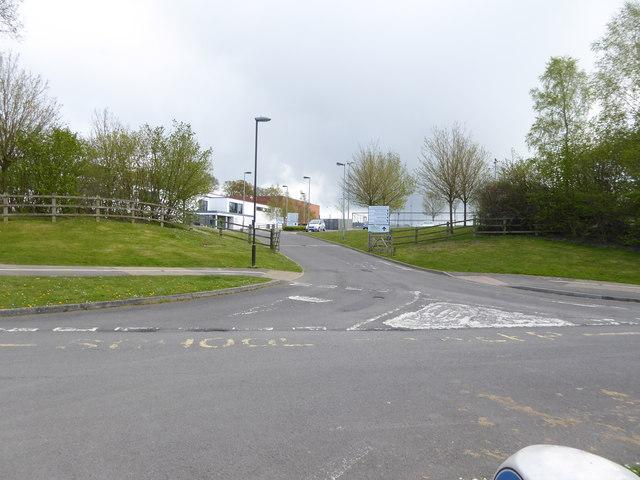Entrance to Oriel High School