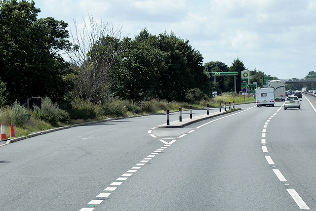 A1 layby southbound