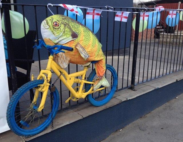 The Tour de Yorkshire visits Conisbrough