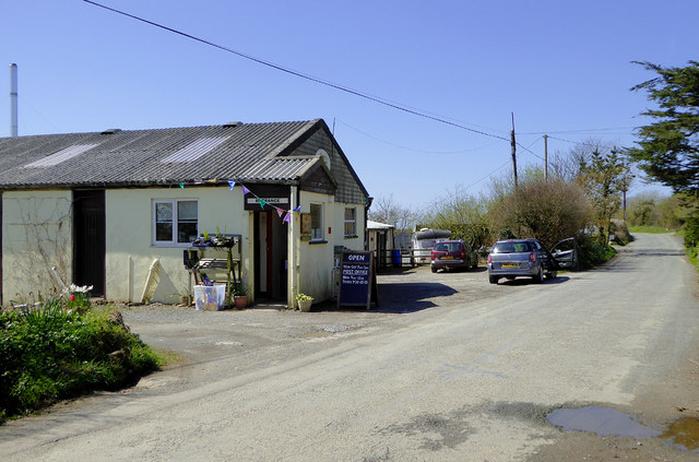Welcombe Community Shop and Post Office, Devon