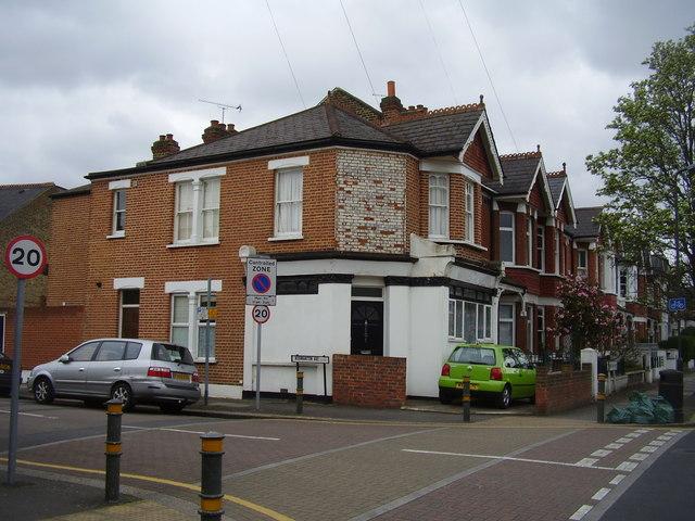 Former corner shop. Normanton Avenue