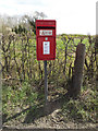 TM1759 : Town House Corner Postbox by Adrian Cable