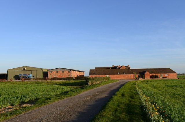 Appleby Magna: Upper Rectory Farm cottages