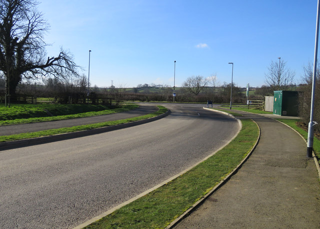The Avenue/Main Road junction