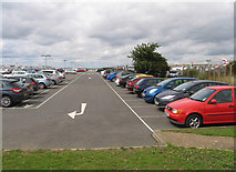 TQ0975 : Heathrow car parking by Andrew Tatlow