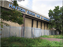 TQ0975 : The back of Hatton Cross Bus and Underground station by Andrew Tatlow