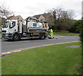 SP0937 : Severn Trent Water lorry in Broadway by Jaggery