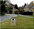 SP0937 : Cotswolds Area of Outstanding Natural Beauty sign, Broadway by Jaggery