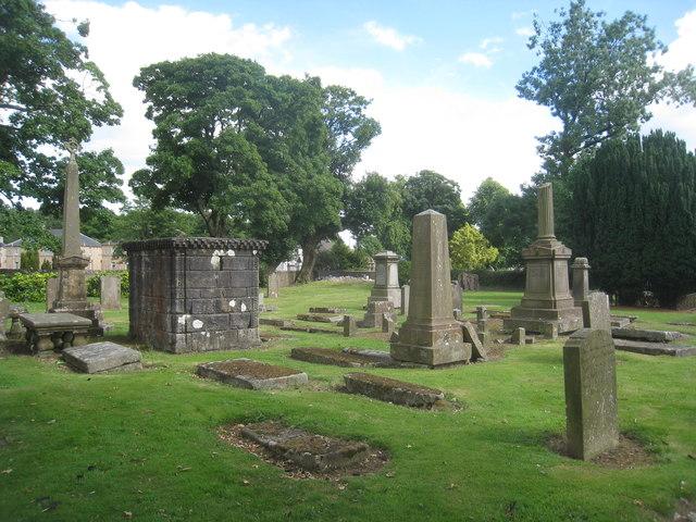 The churchyard at Kilbirnie