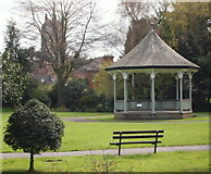 SK7519 : New Park, Melton Mowbray, Leics. by David Hallam-Jones