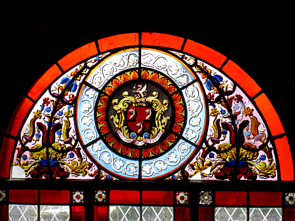 Stained Glass Crest