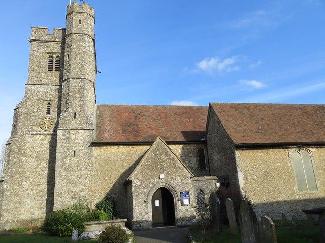 The Church of St Mary at Kennington